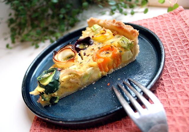 Oppskrift Høstpai Rotgrønnsaker Squash Vegansk Pai Uten Egg Kikertmel Kikertrøre Kjøttfri