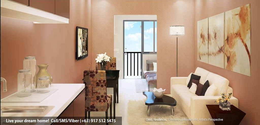 SMDC Grass Residences - 1 Bedroom | Condominium for Sale Quezon City
