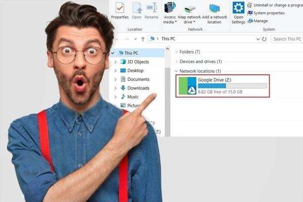حصريا | تحويل مساحة Google Drive الغير المحدودة إلى قرص صلب على جهاز الحاسوب الخاص بك !
