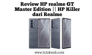 Review HP realme GT Master Edition