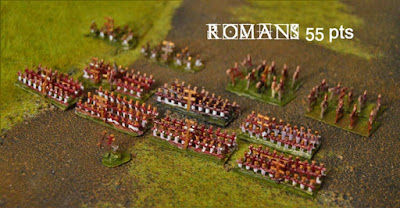A regular 55Pt Roman Army (starter army) built and painted in just two hours
