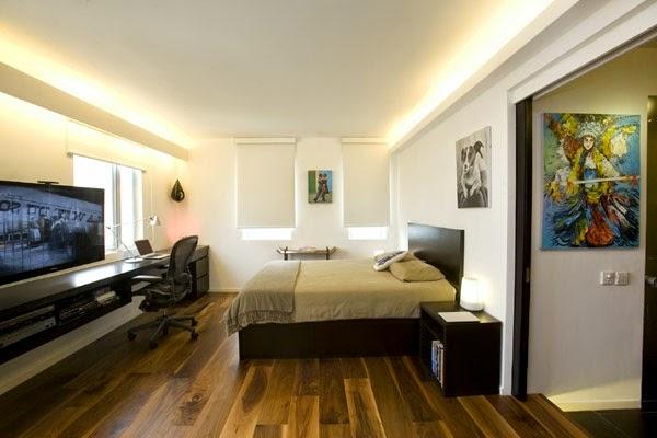 Dormitorios modernos para solteros ideas para decorar for Departamentos decorados para hombres