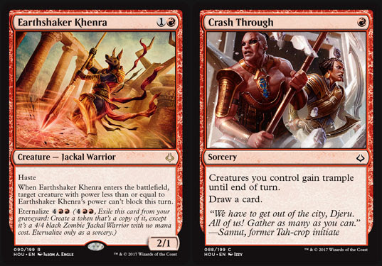 Magic the Gathering Adventures: Hour of Devastation Review: Red