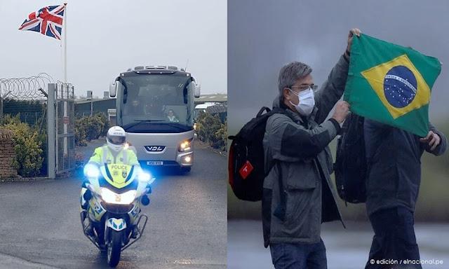 Reino Unido y Brasil evacuan ciudadanos de China por coronavirus