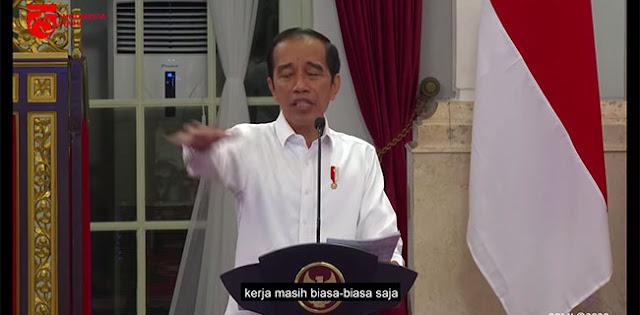 Jokowi Marah Tanda Kritik Publik Atas Kinerja Pemerintah Selama Ini Benar