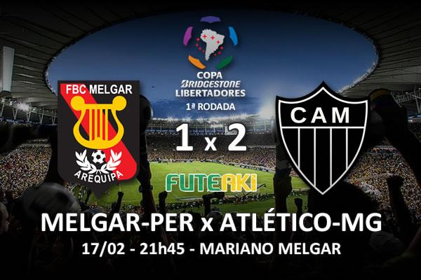 Veja o resumo da partida com os gols e os melhores momentos de Melgar-PER 1x2 Atlético-MG pela 1ª rodada da Copa Libertadores da América 2016.