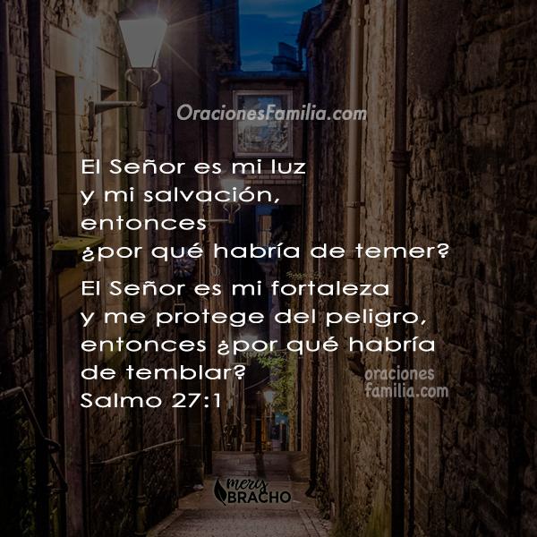frases de versiculo con imagen del salmo 27 salmo para dormir