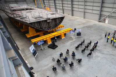 Keel Laid for Third Australian OPV