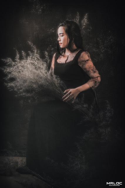 Nữ Hoa Đêm | Female Classical Art - Model Foto Nguyễn Thu