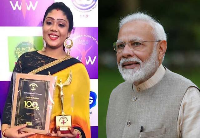 Sneha Mohan doss, pm Modi's twitter handle, Narendra Modi, International Women's Day