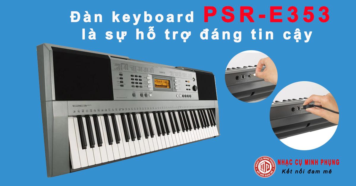 Mua Đàn Organ yamaha PSR E353 cho người mới học