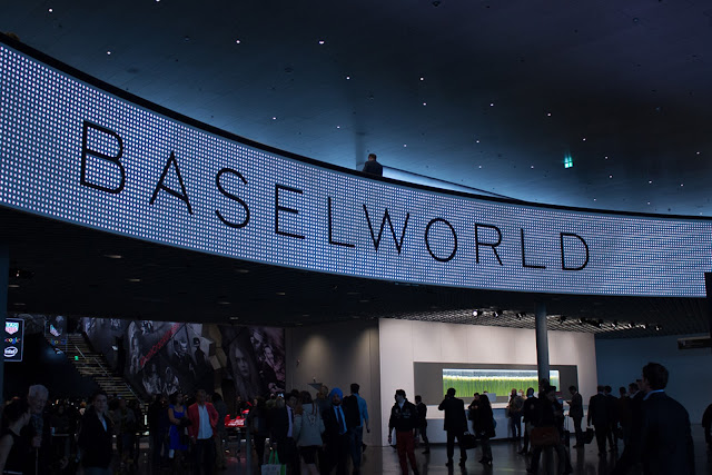 Entrance to Baselworld 2015