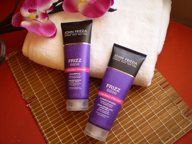 JOHN FRIEDA FRIZZ EASE FLAWLESSY STRAIGHT SHAPOO / CONDITIONER