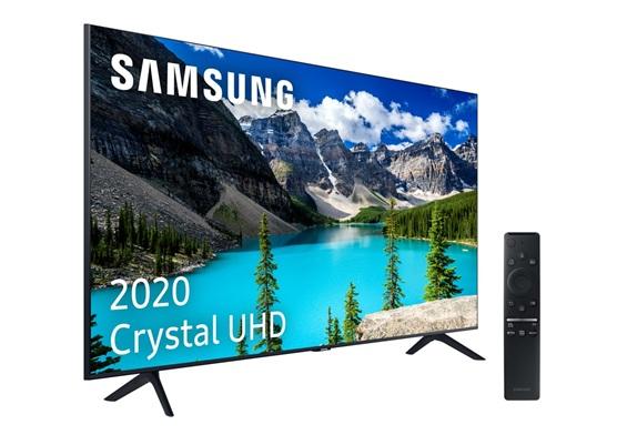 Samsung UE55TU8005: Smart TV 4K de 55'' con One Remote Control, Crystal Display y HDR10+