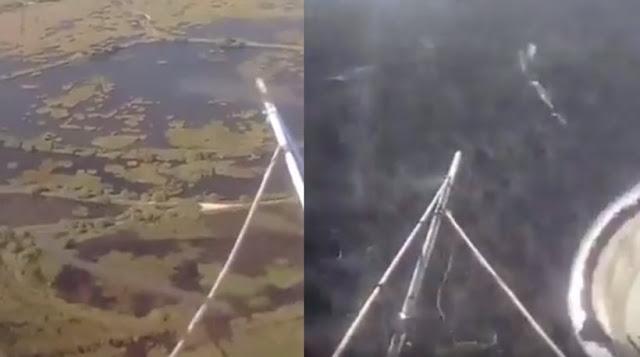 Η πτώση του ελικοπτέρου στον Σχοινιά μεταδιδόταν live στο Facebook (βίντεο)