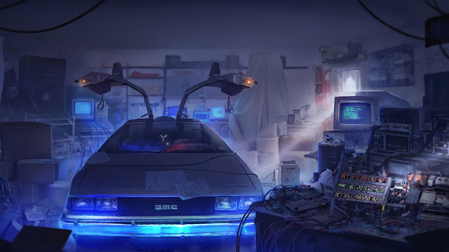Papel de Parede DeLorean DMC-12, hd, 4k.