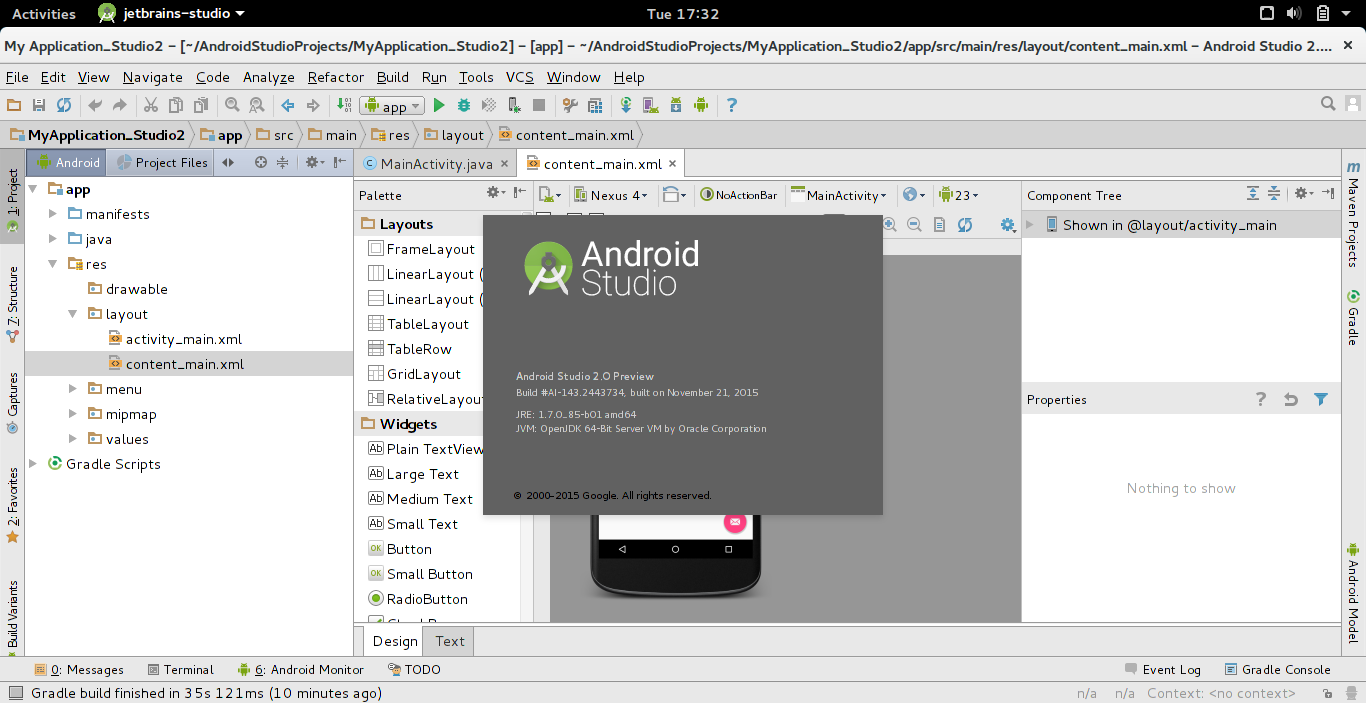 android studio development essentials pdf 2015