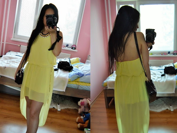 OOTD - Sunflower dress