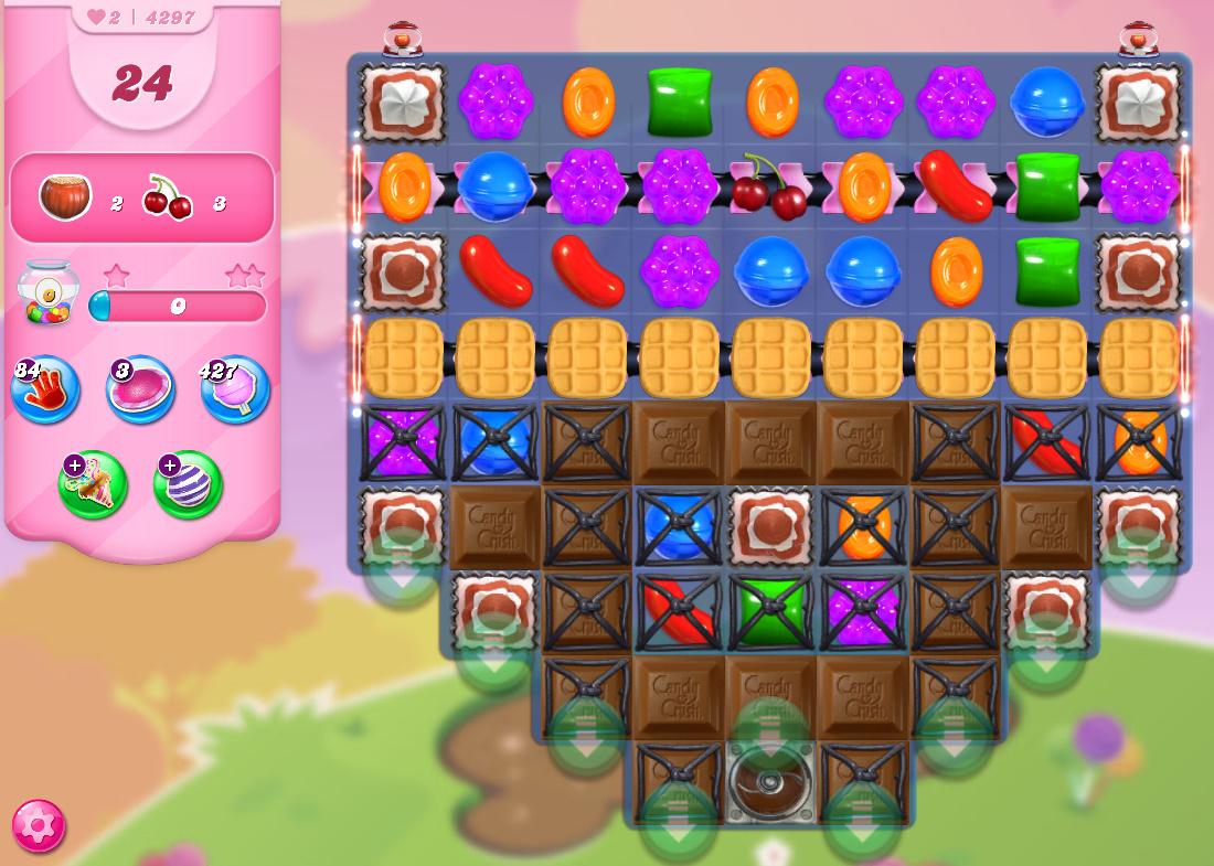 Candy Crush Saga level 4297