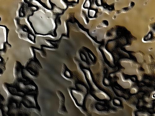 pattern in mud