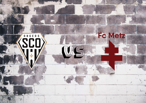 Angers vs Metz  Resumen