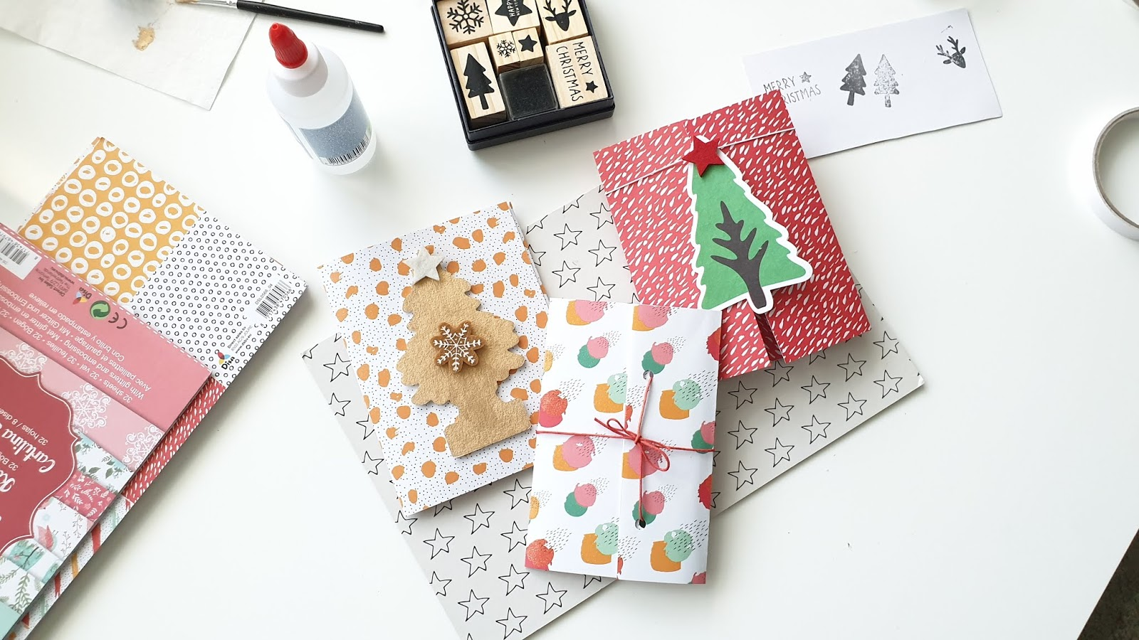 Sposób na kartkę świąteczną