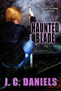 Haunted Blade by J.C. Daniels