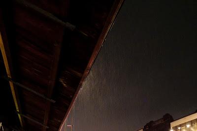 雨 川越 夜の街 日本の風景 snapshot  Japan