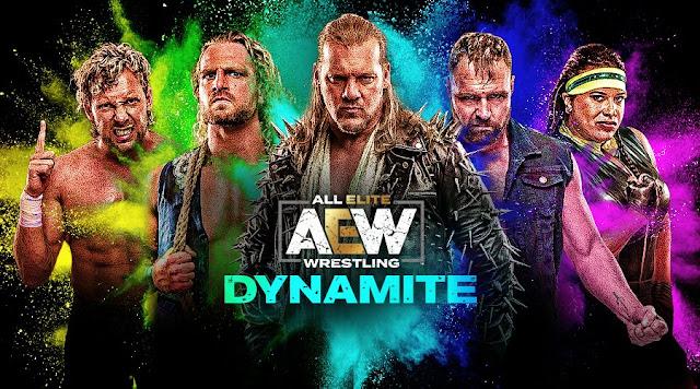 Título muda de mãos no AEW Dynamite