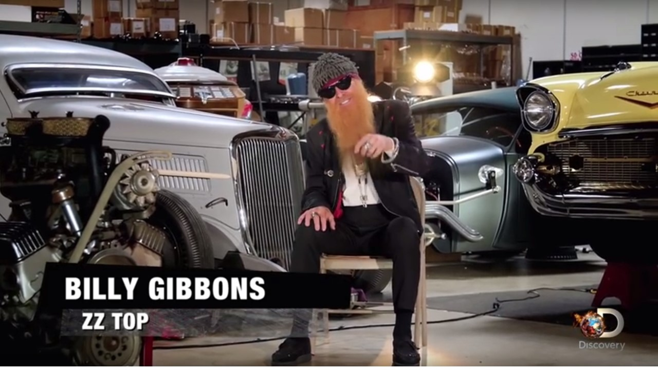 Nixon Motor Sports American Hot Rod Billy Gibbons