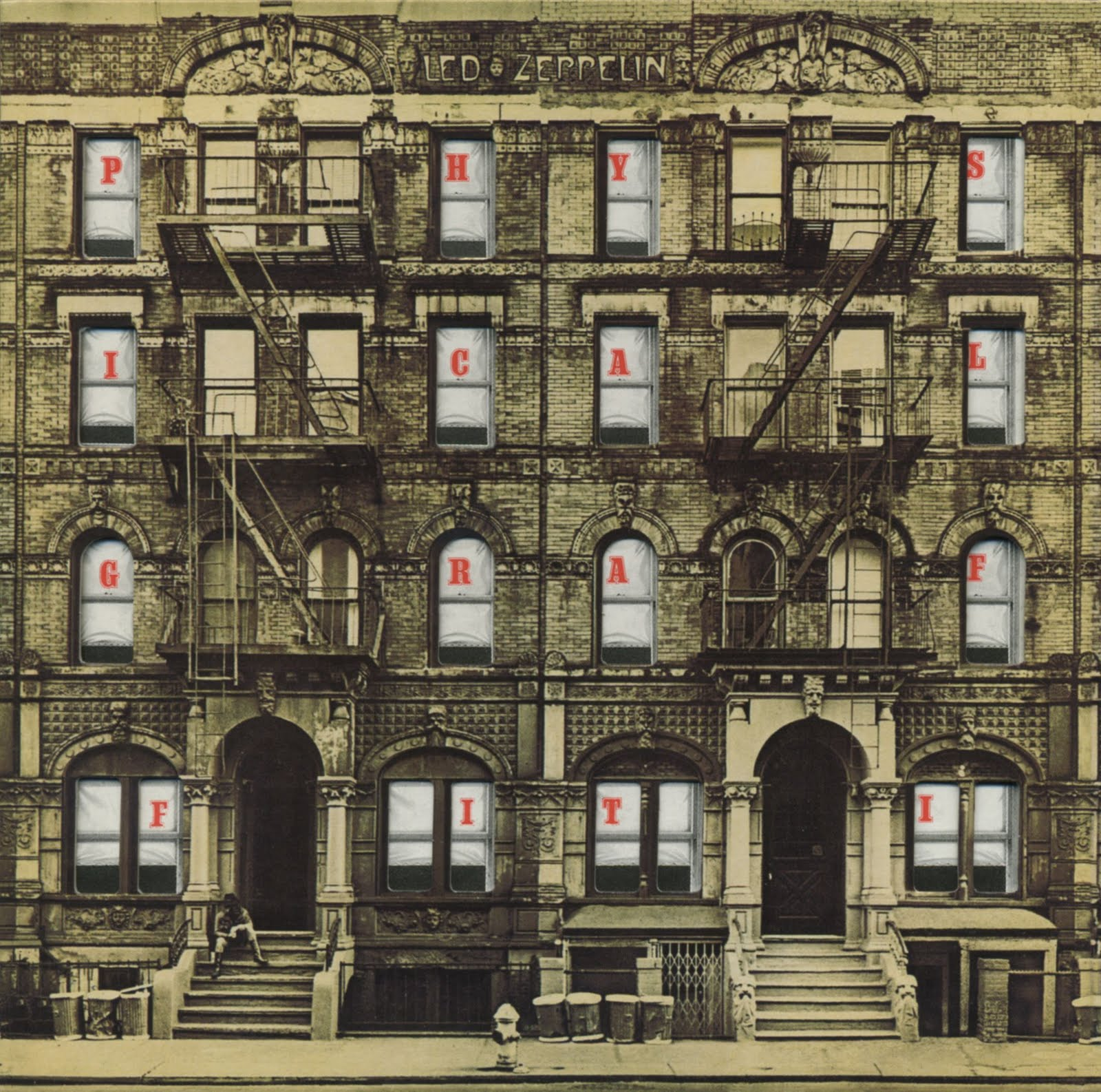 Led Zeppelin Physical Graffiti