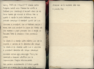 L4C3M1: lettera di Ron a Harry