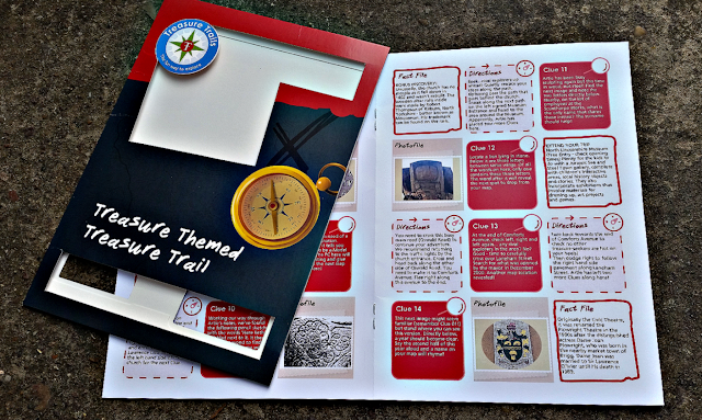Treasure Trail booklet