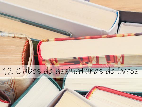 12 clubes de assinaturas de livros para você escolher o seu