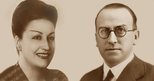 Piedad Zubizarreta y Ernesto Vega de la Iglesia