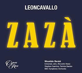 Leoncavallo - Zaza - Opera Rara