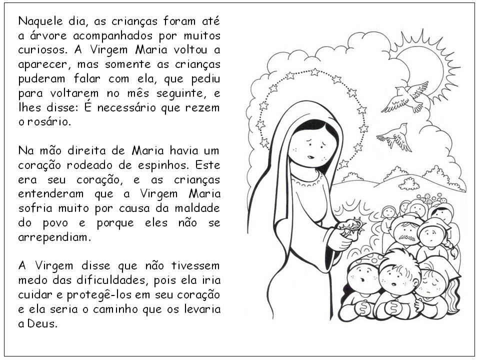 Nossa Senhora Aparecida Mãe Das Crianças: Catequistas Da Paróquia Nossa Senhora De Fátima De Fartura