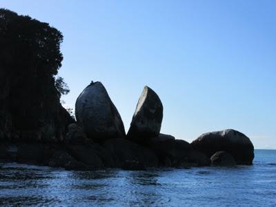 Split Apple Rock, Parque Nacional Abel Tasman, Nueva Zelanda