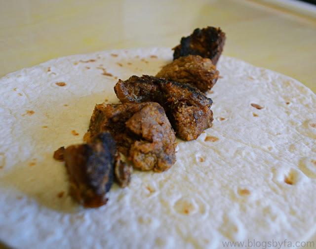 Lamb Tikka Wrap Recipe