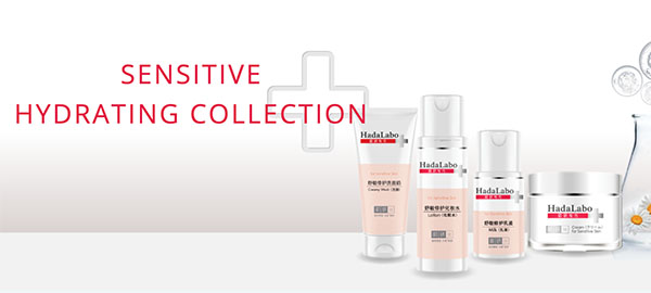 Hada Labo+ Sensitive Hydrating Collection