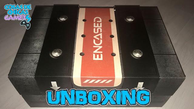Unboxing press kit Encased