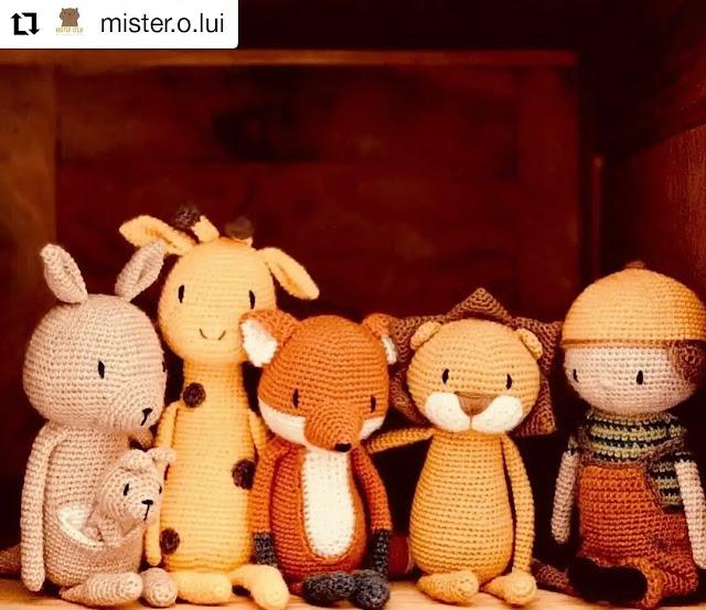 Personajes a Crochet - Las historias detrás de los amigurumis