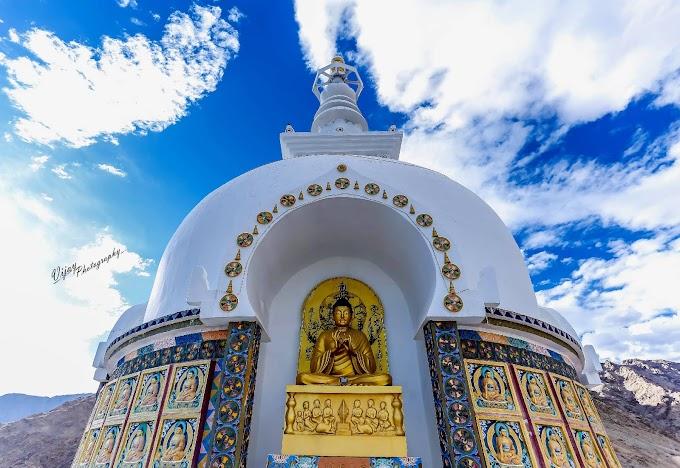Santi Stupa at Leh