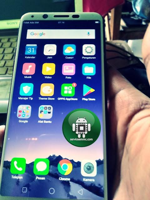Cara Flashing/Update Oppo Terbaru (New Security) Tanpa MSMDownloadtool