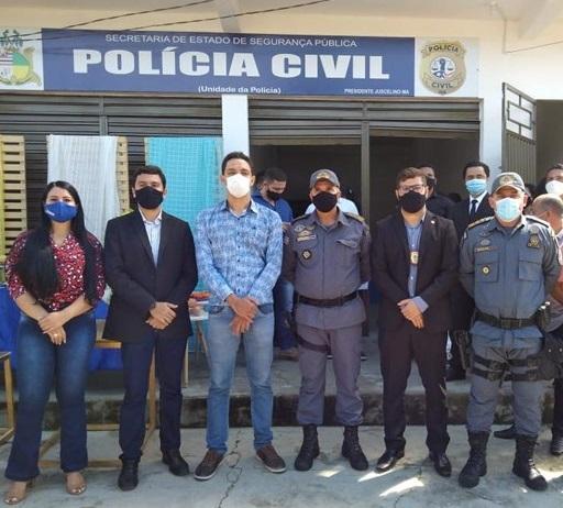 POLÍCIA CIVIL DO MARANHÃO INAUGURA DELEGACIA DE POLÍCIA CIVIL DE PRESIDENTE JUSCELINO