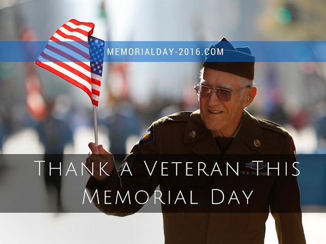 Thank a Veteran This Memorial Day 2016