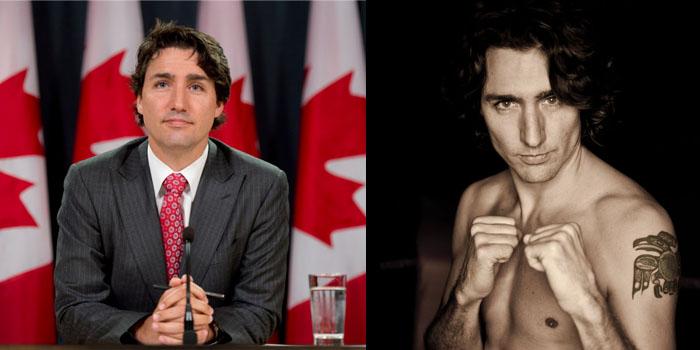 Guapo Primer Ministro de Canadá