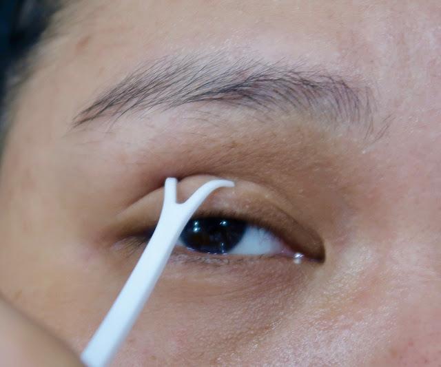 Futae Labo Double Eyelid Glue 1 Day Tattoo for bigger eyes review beauty filipina morena blog