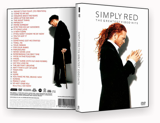 DVD-R SIMPLY RED THE GREATESTVIDEO HITS – OFICIAL