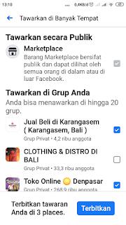 Menjual Barang di Facebook Marketplace